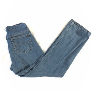 30X32 Men's Relaxed Fit Blue Jean Pants